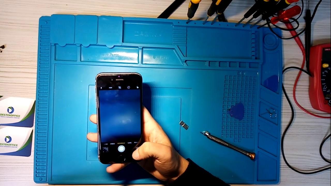 Telefonum Yağmurda kaldı Ahize ve Ön Kamera Problemi Çözümü How to repair camera Problem for Iphone